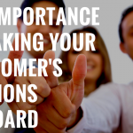 The importance of taking your customer's opinions onboard