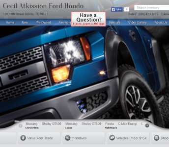 Cecil Atkission Ford