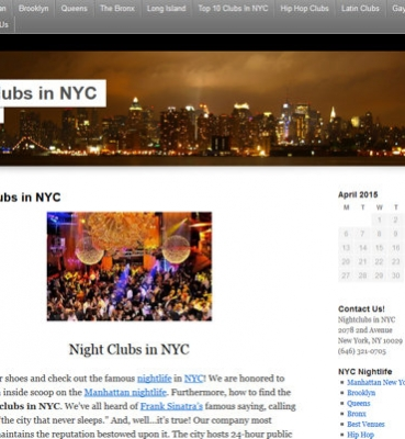 Night Clubs in NYC
