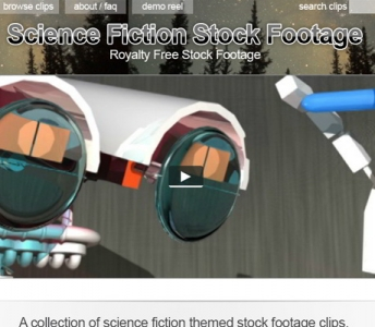Science Fiction Stock Footage